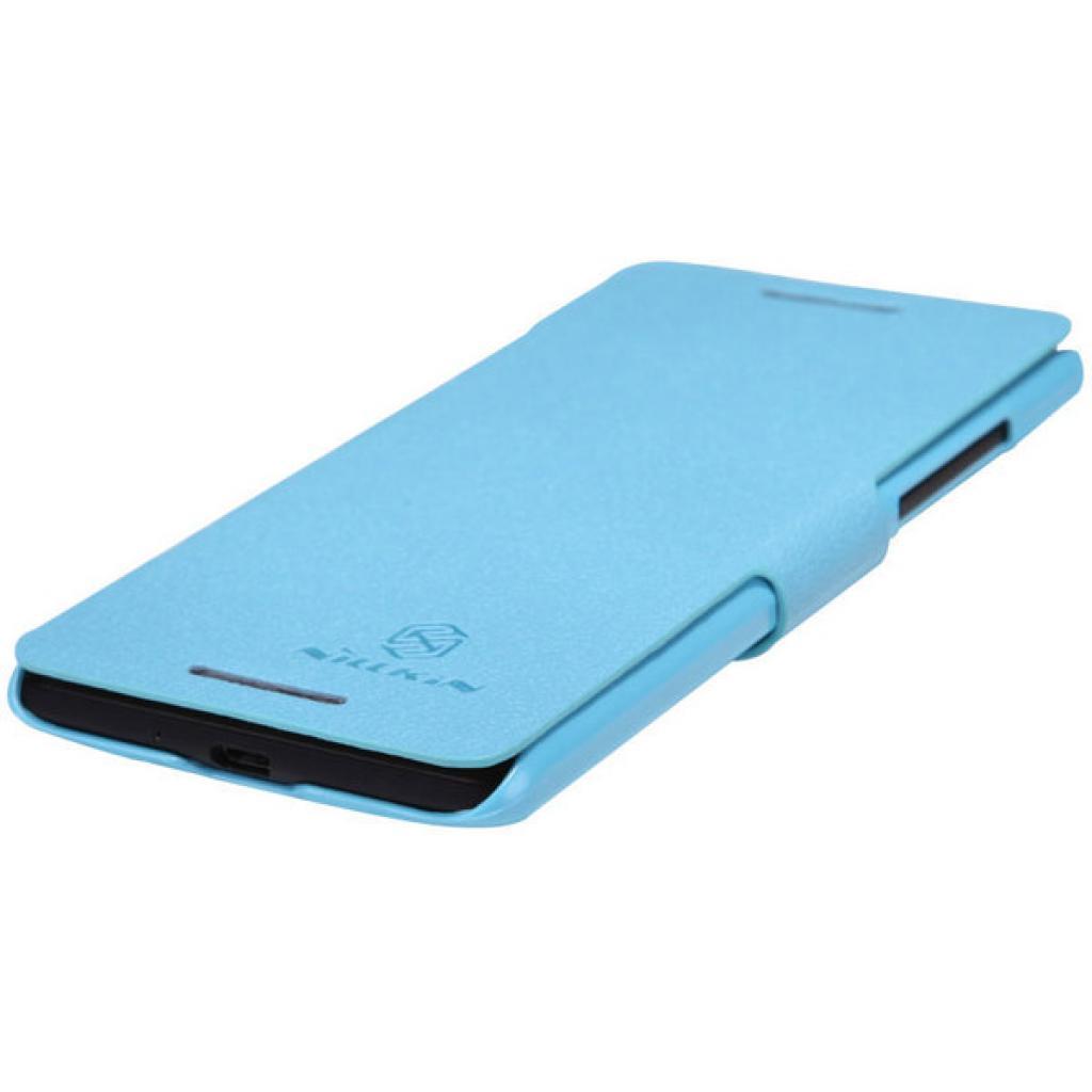 Чехол для моб. телефона NILLKIN для HTC Desire 600 /Fresh/ Leather/Blue (6088698) изображение 3