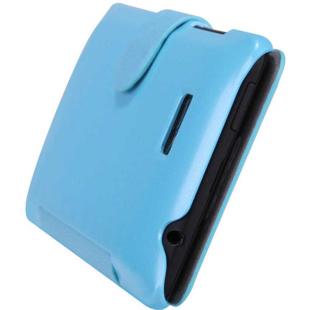Чехол для моб. телефона NILLKIN для HTC Desire 600 /Fresh/ Leather/Blue (6088698) изображение 4