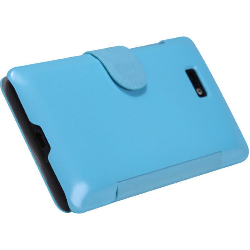 Чехол для моб. телефона NILLKIN для HTC Desire 600 /Fresh/ Leather/Blue (6088698) изображение 5