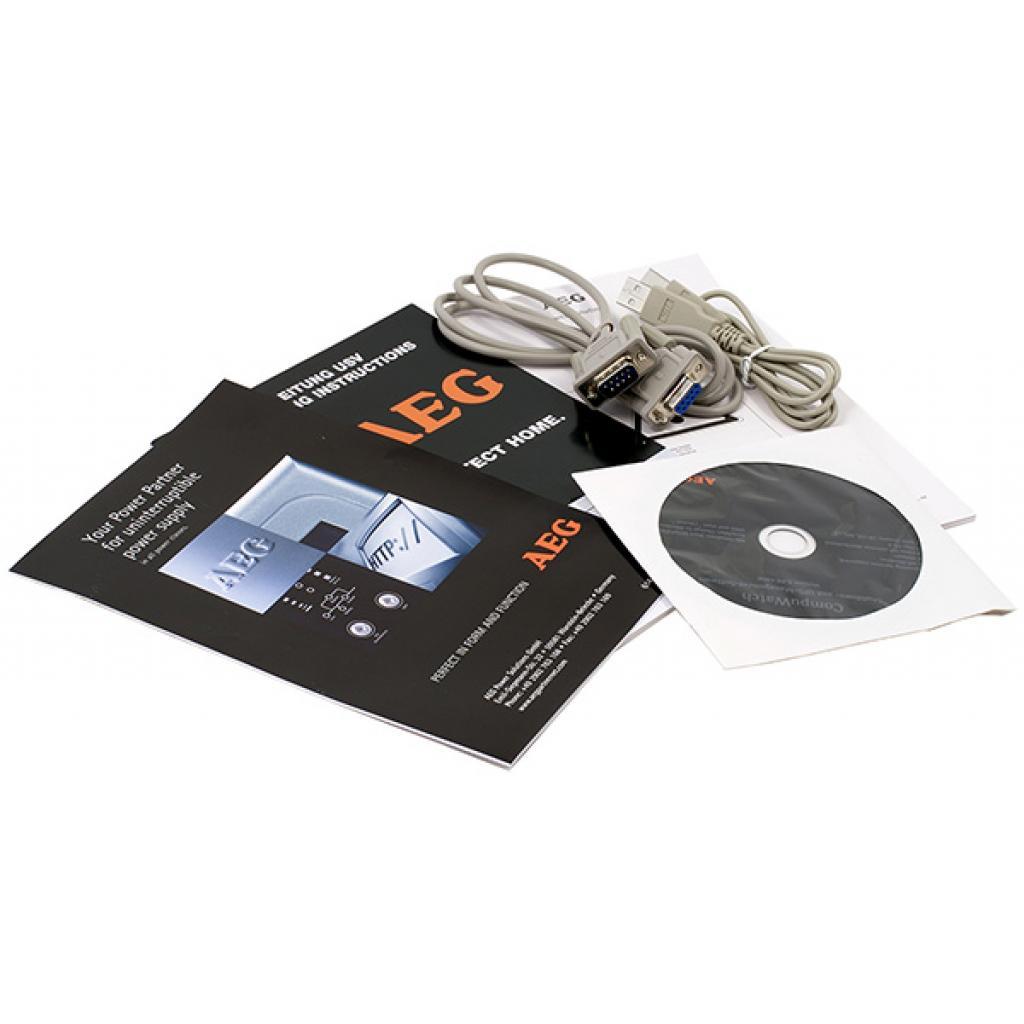 Источник бесперебойного питания AEG Protect Home 600 (6000011844) изображение 7