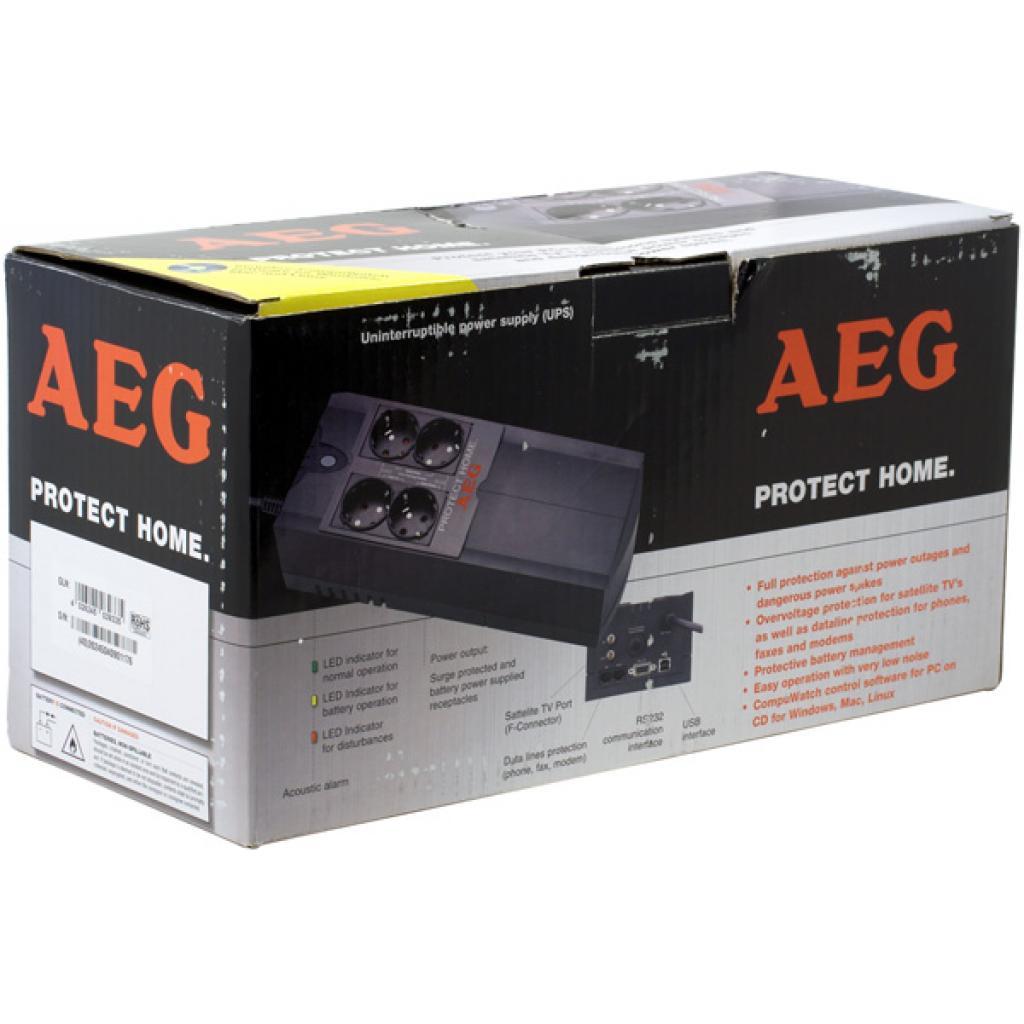 Источник бесперебойного питания AEG Protect Home 600 (6000011844) изображение 8