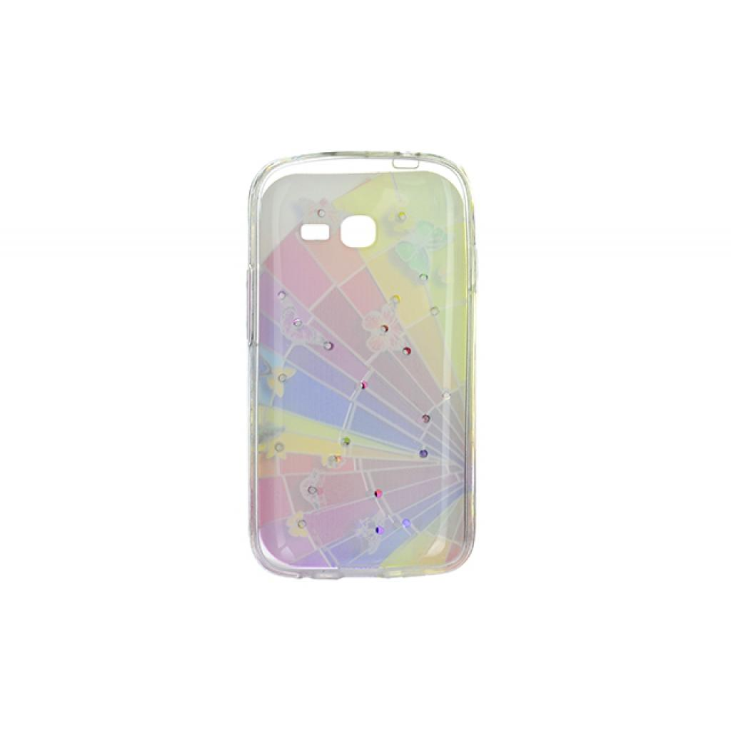 Чехол для моб. телефона для Samsung Galaxy S7262 (Rainbow) Cristall PU Drobak (216098) изображение 2