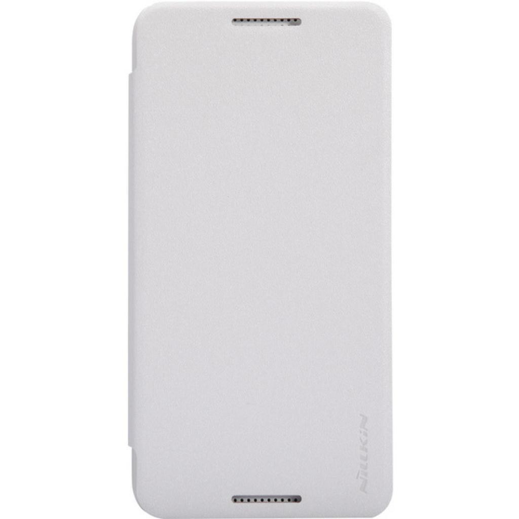 Чехол для моб. телефона NILLKIN для HTC Desire 0 /Spark/ Leather/White (6154751)