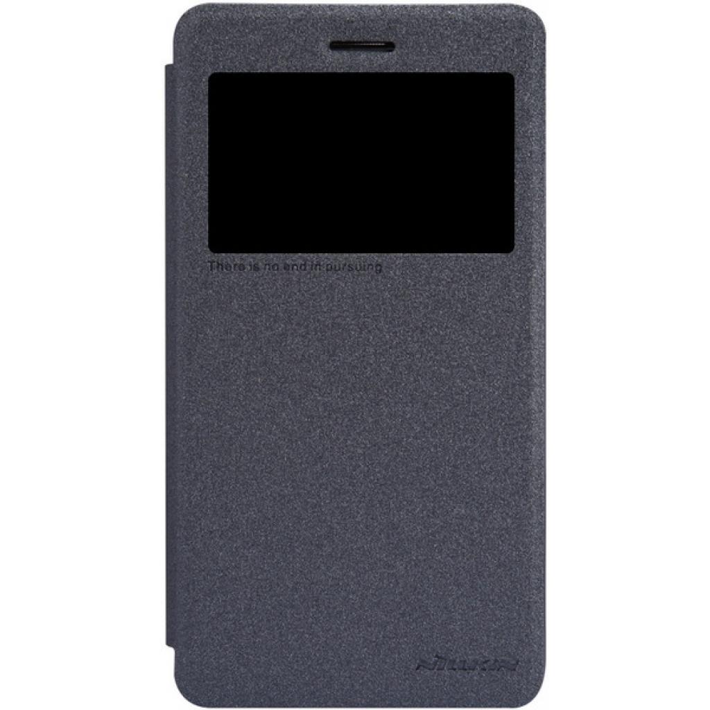 Чехол для моб. телефона NILLKIN для Lenovo S860 /Spark/ Leather/Black (6154919)