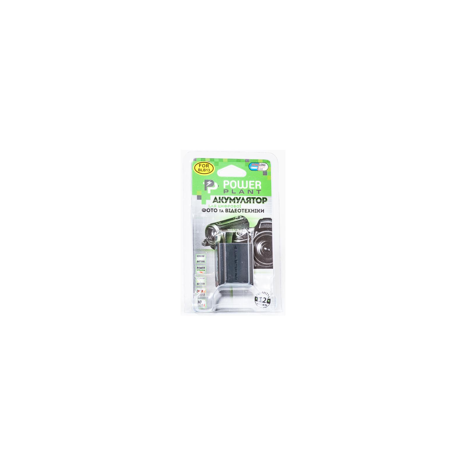 Аккумулятор к фото/видео PowerPlant Panasonic DMW-BLB13 (DV00DV1263) изображение 3