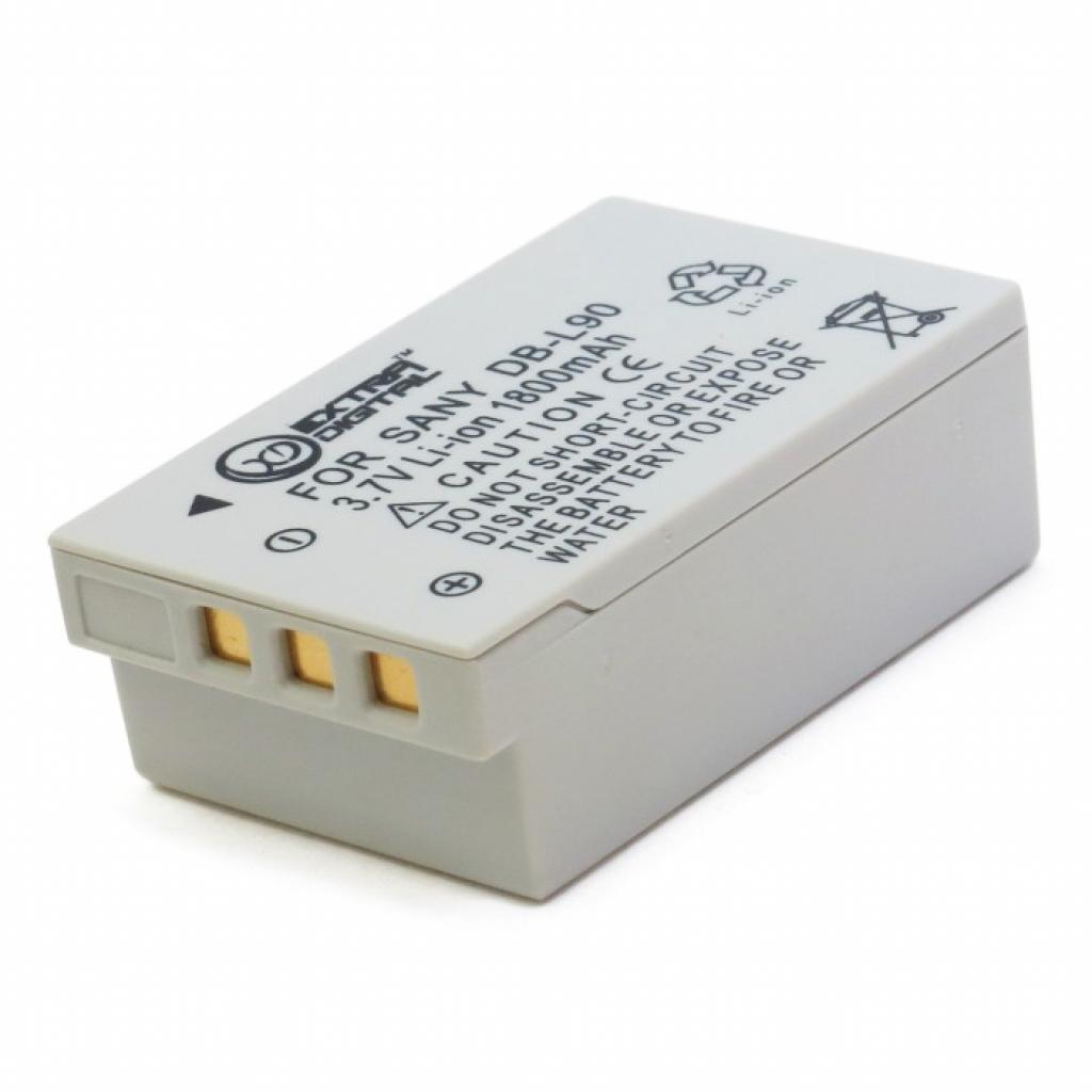 Аккумулятор к фото/видео EXTRADIGITAL Sanyo DB-L90 (DV00DV1267) изображение 2