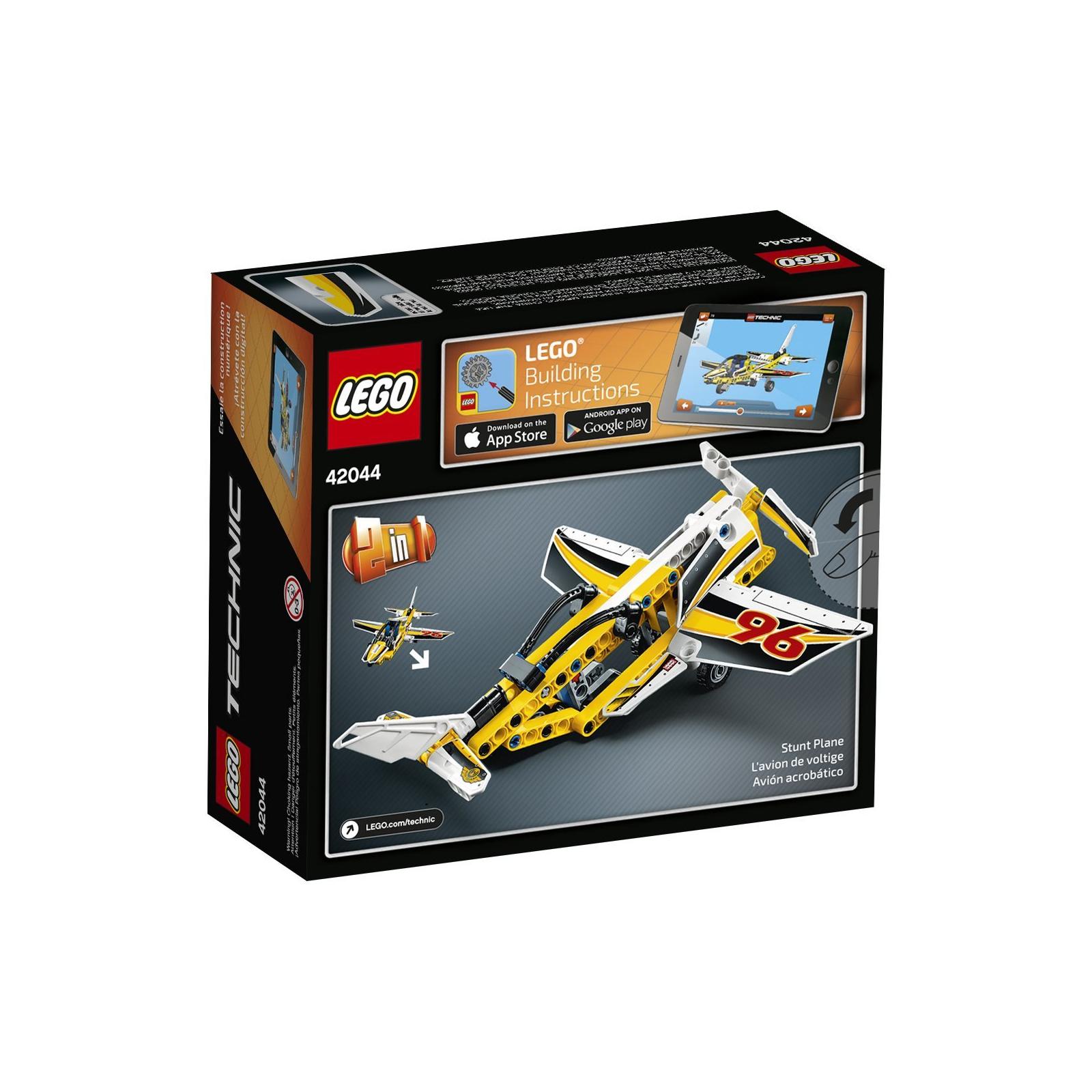 Конструктор LEGO Technic Самолёт пилотажной группы (42044) изображение 5