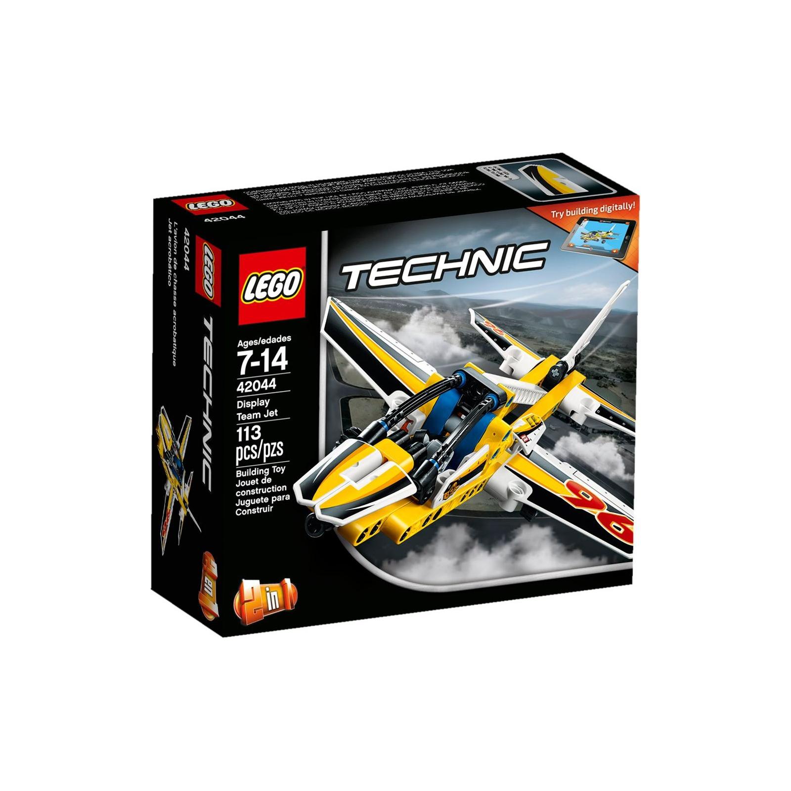 Конструктор LEGO Technic Самолёт пилотажной группы (42044)