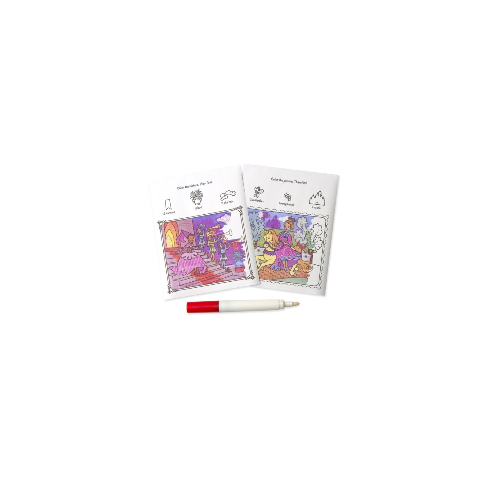 Набор для творчества Melissa&Doug Волшебная раскраска Принцессы (MD5356) изображение 2