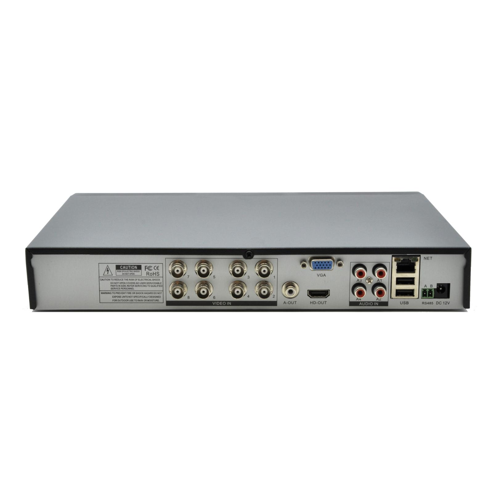 Регистратор для видеонаблюдения GreenVision AHD GV-A-S 031/08 (4236) изображение 4