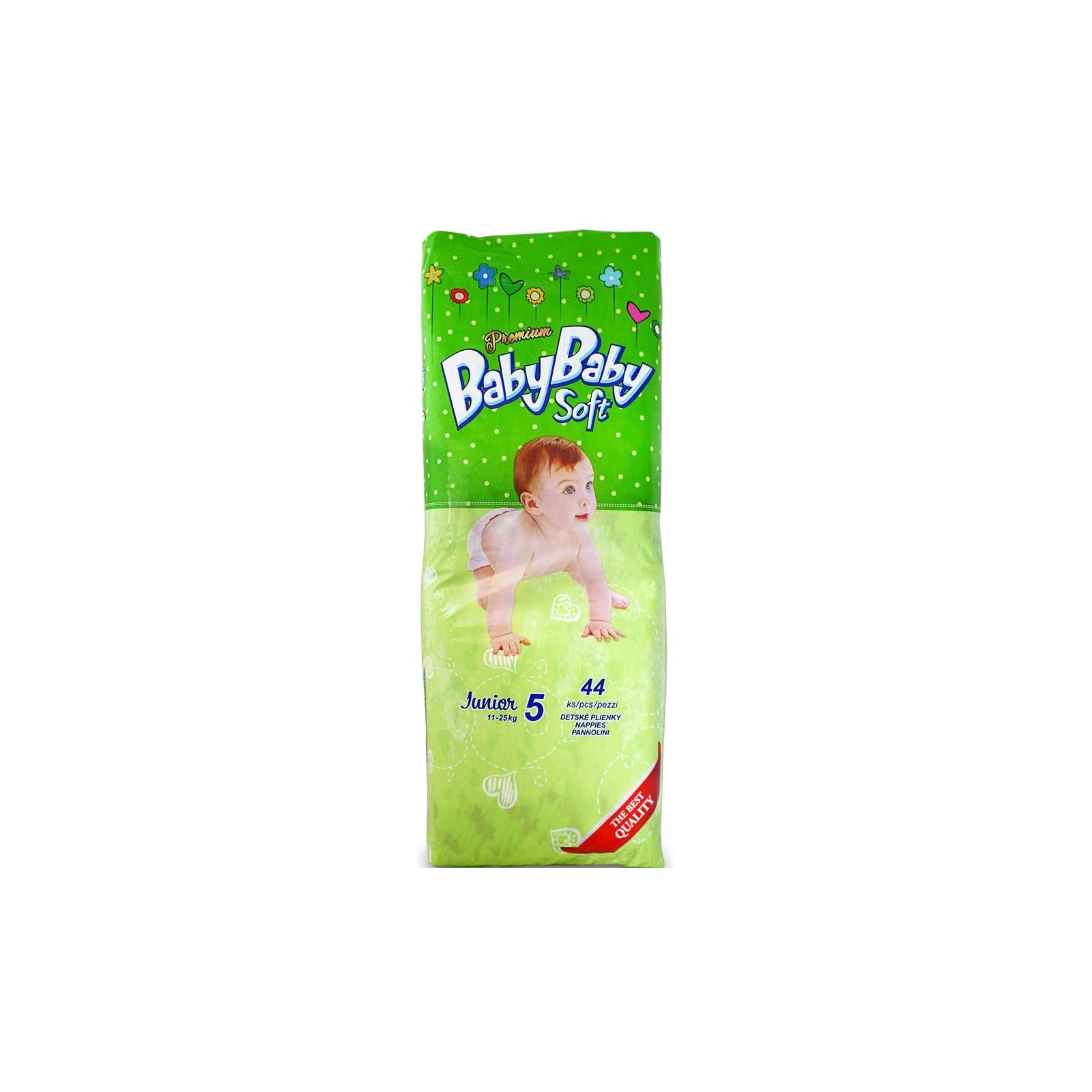 Подгузник BabyBaby Soft Premium Junior 5 (11-25 кг) 44 шт (8588004865570)