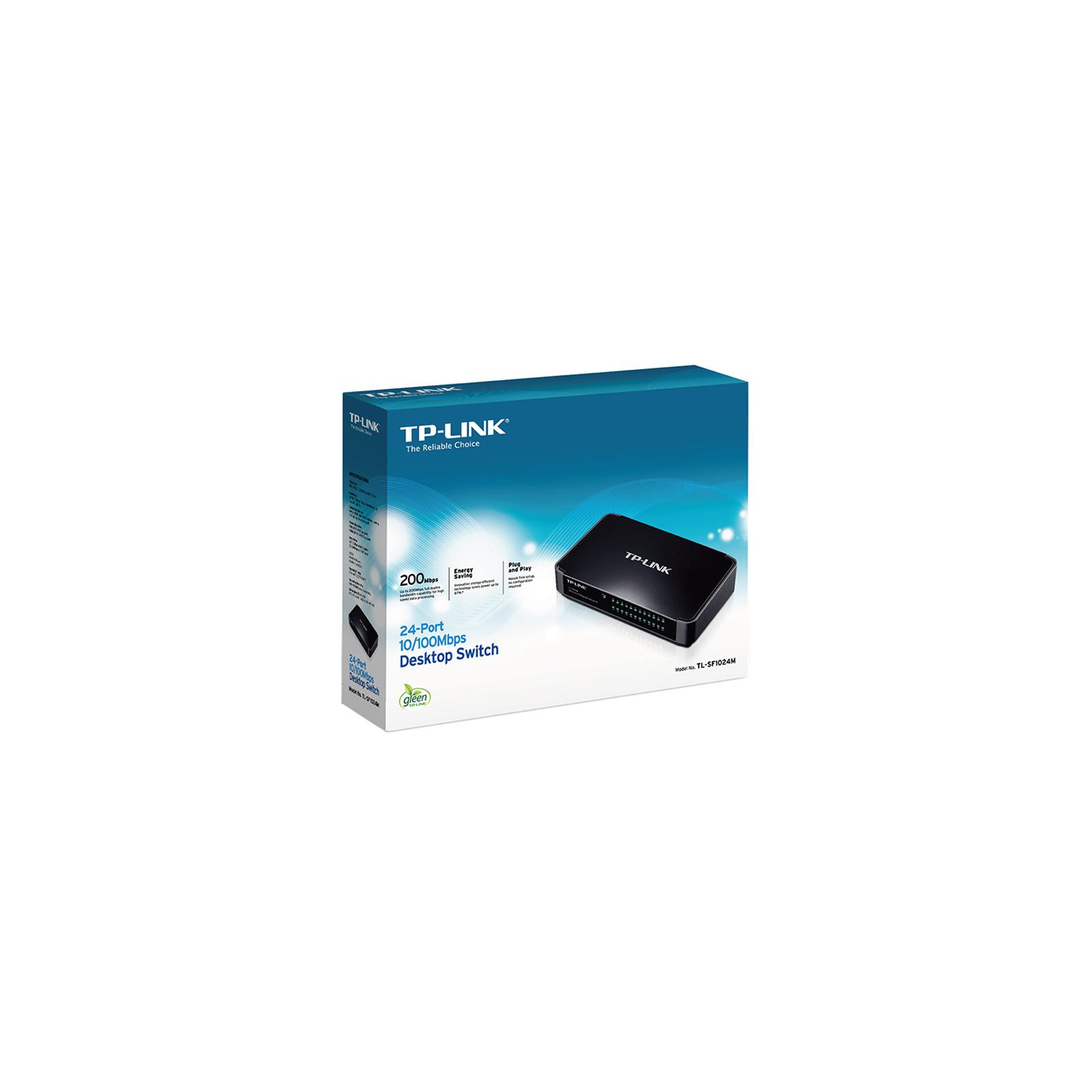 Коммутатор сетевой TP-Link TL-SF1024M изображение 3
