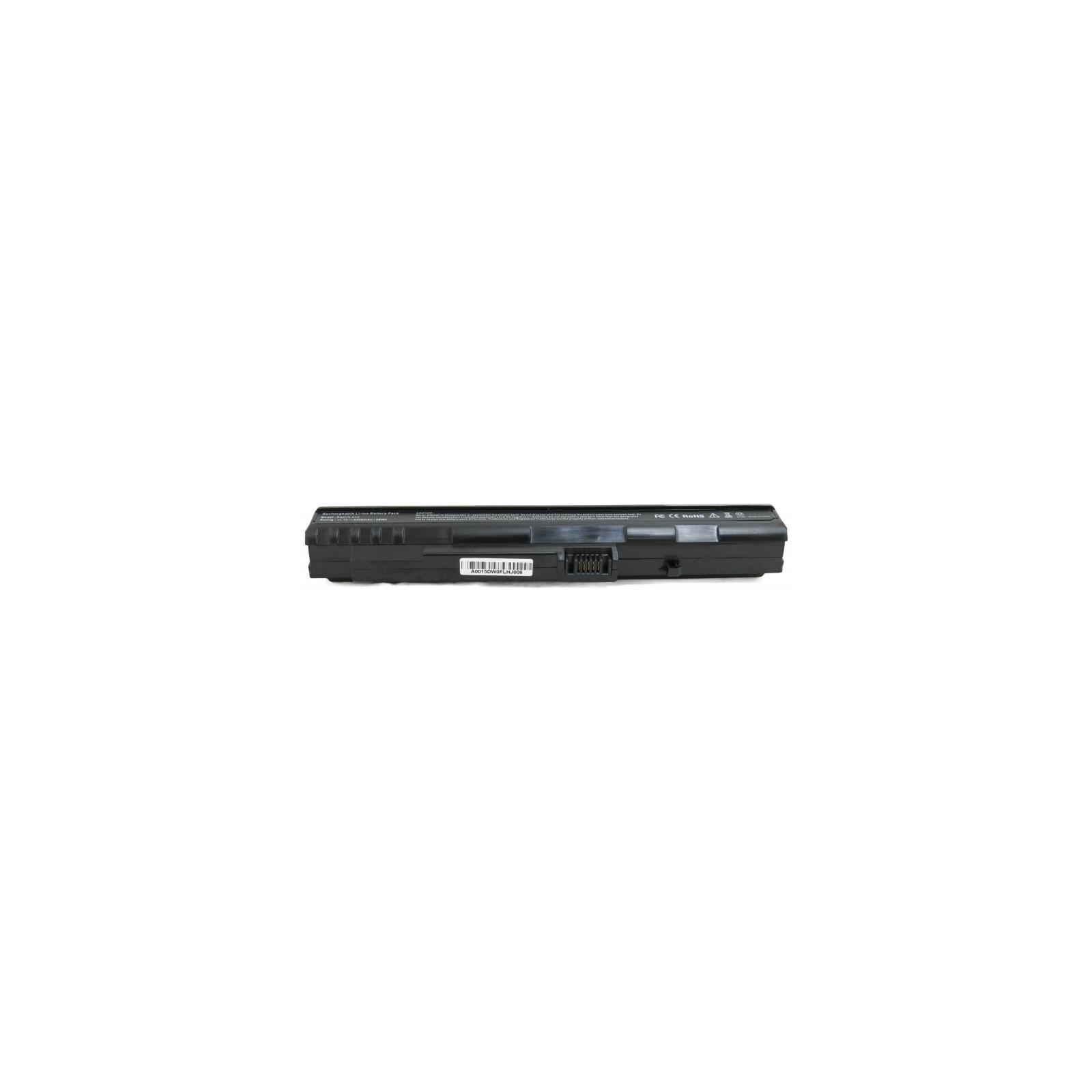Аккумулятор для ноутбука Acer Aspire One A150 (UM08A71) 5200 mAh EXTRADIGITAL (BNA3914) изображение 4