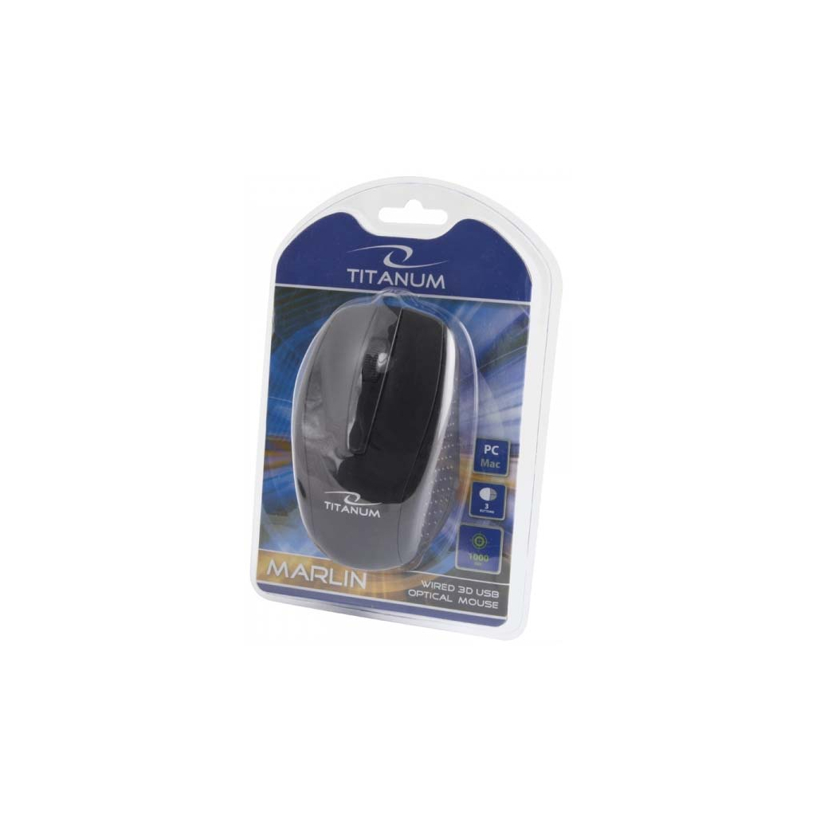 Мышка Esperanza Titanum TM110K Black изображение 3