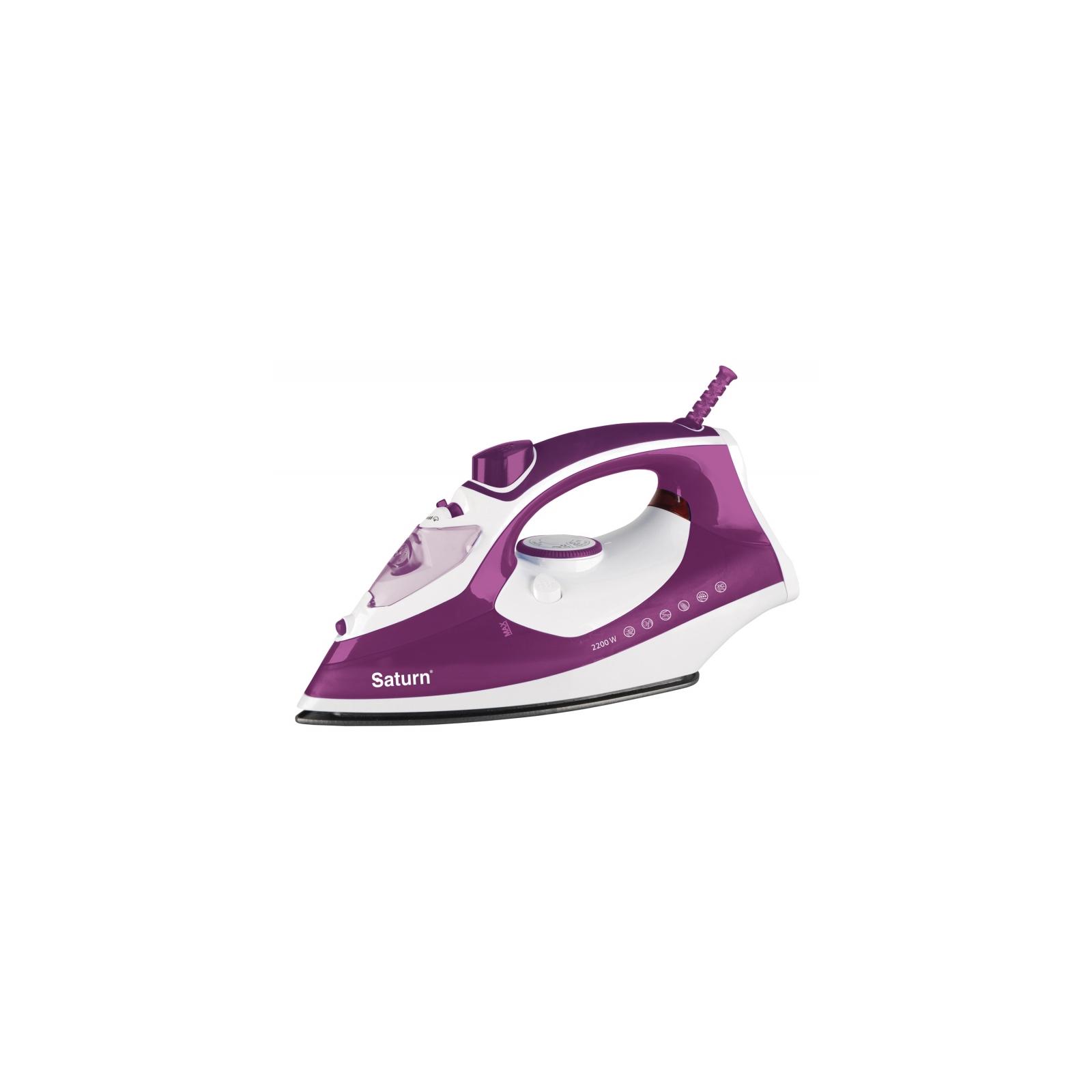 Утюг SATURN ST-CC7115 violet