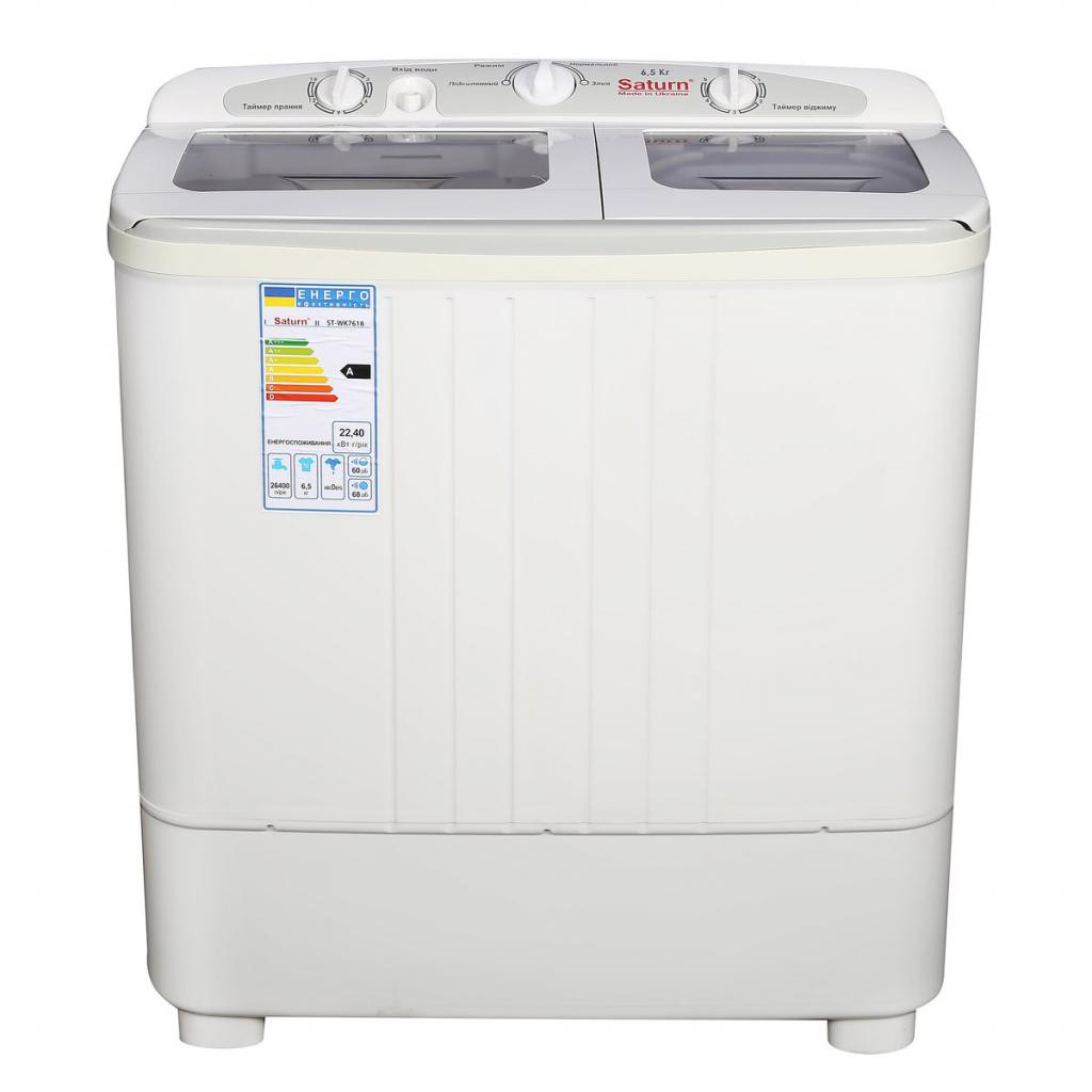 Стиральная машина SATURN ST-WK7618 white изображение 2