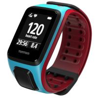 Фитнес браслет TomTom Runner 2 Cardio Scuba Blue/Red L (1RF0.001.00)