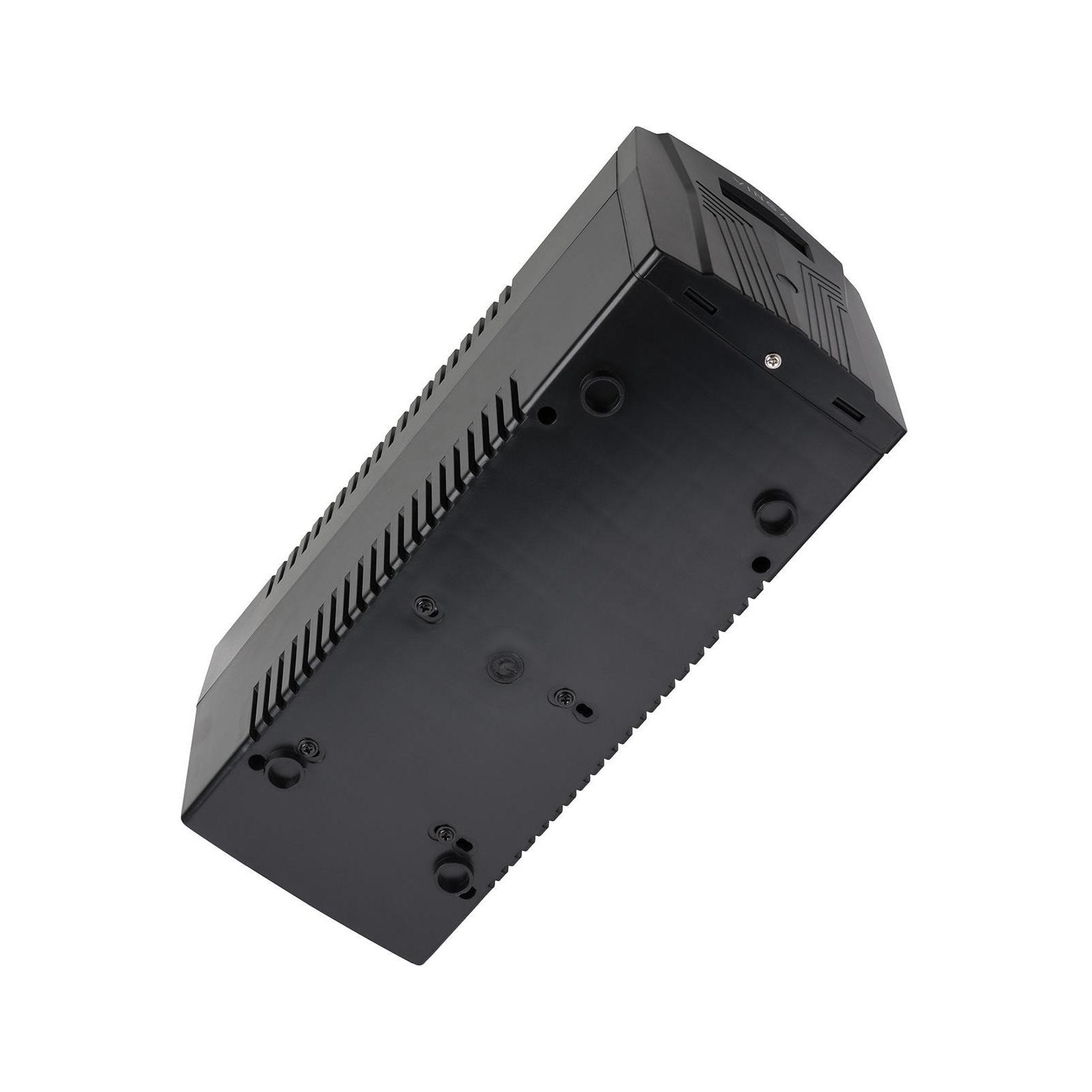 Источник бесперебойного питания Vinga LCD 800VA plastic case with USB (VPC-800PU) изображение 11