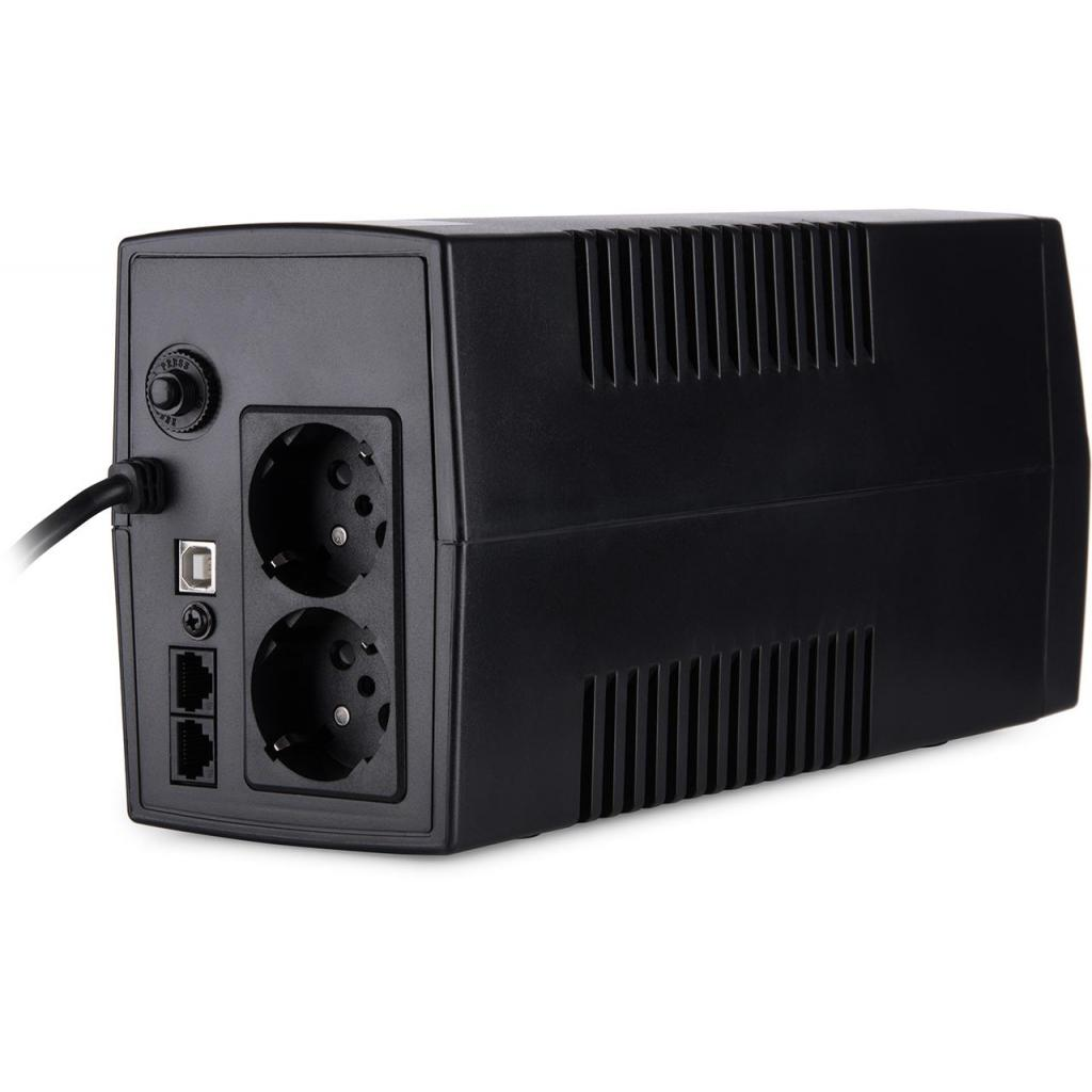 Источник бесперебойного питания Vinga LCD 800VA plastic case with USB (VPC-800PU) изображение 4