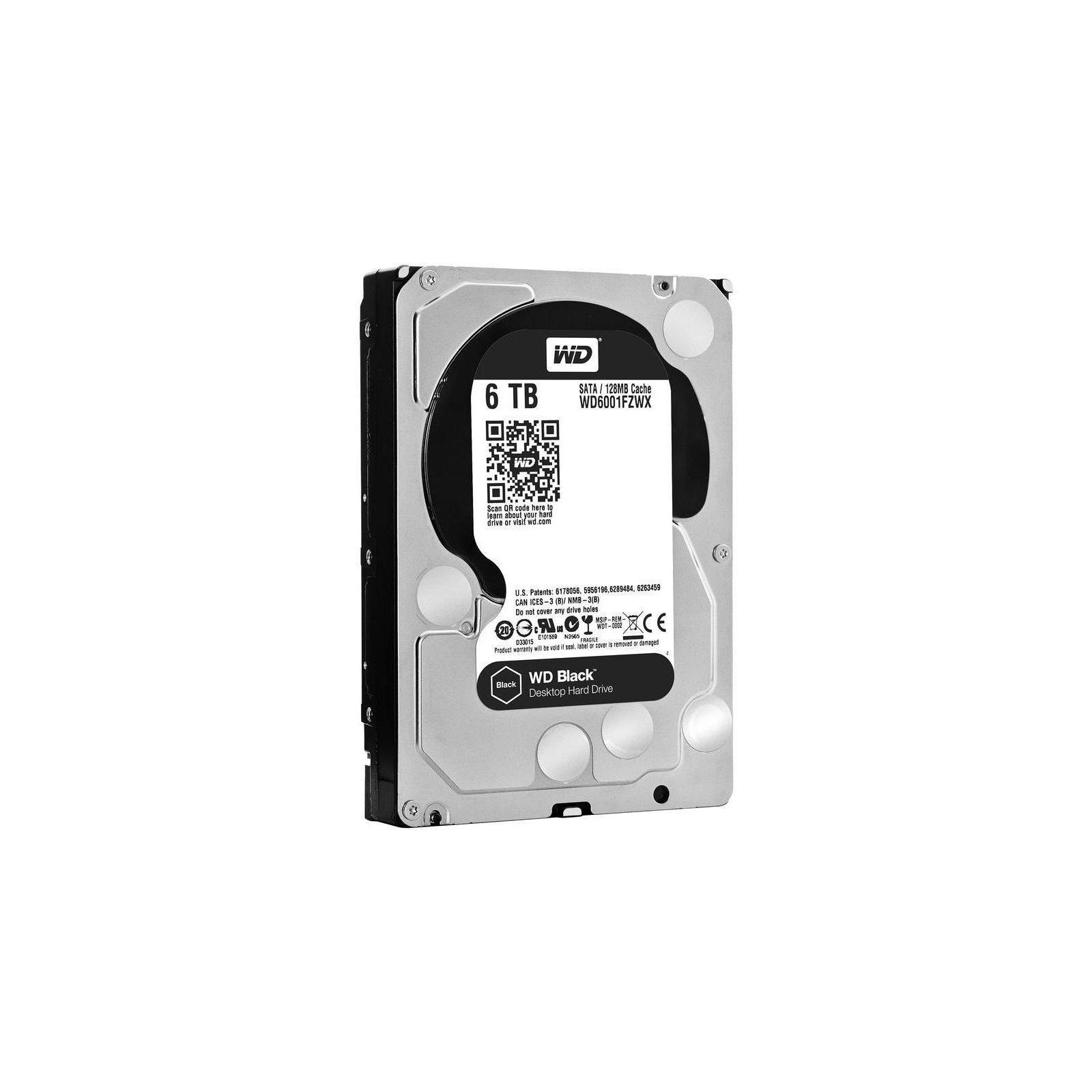 """Жесткий диск 3.5"""" 6TB WD (#WD6001FZWX-FR#) изображение 2"""