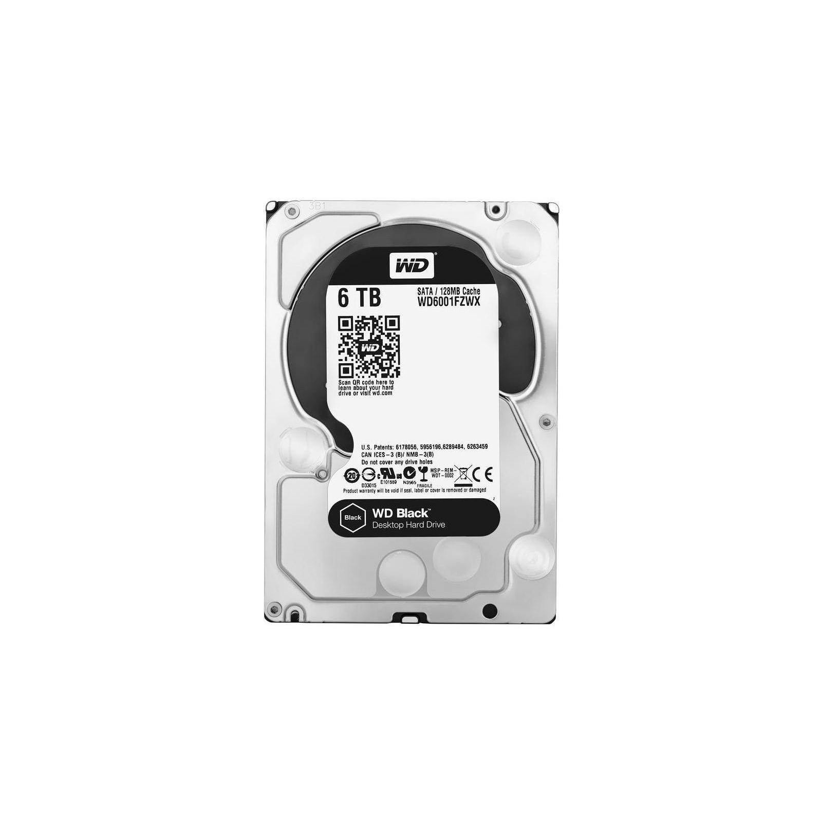 """Жесткий диск 3.5"""" 6TB WD (#WD6001FZWX-FR#) изображение 3"""