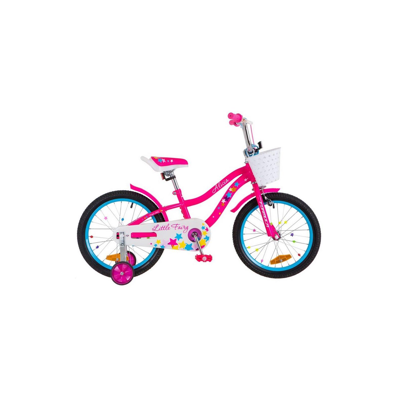 """Детский велосипед Formula 18"""" ALICIA 2018 14G рама-9,5"""" St розовый (OPS-FRK-18-026)"""