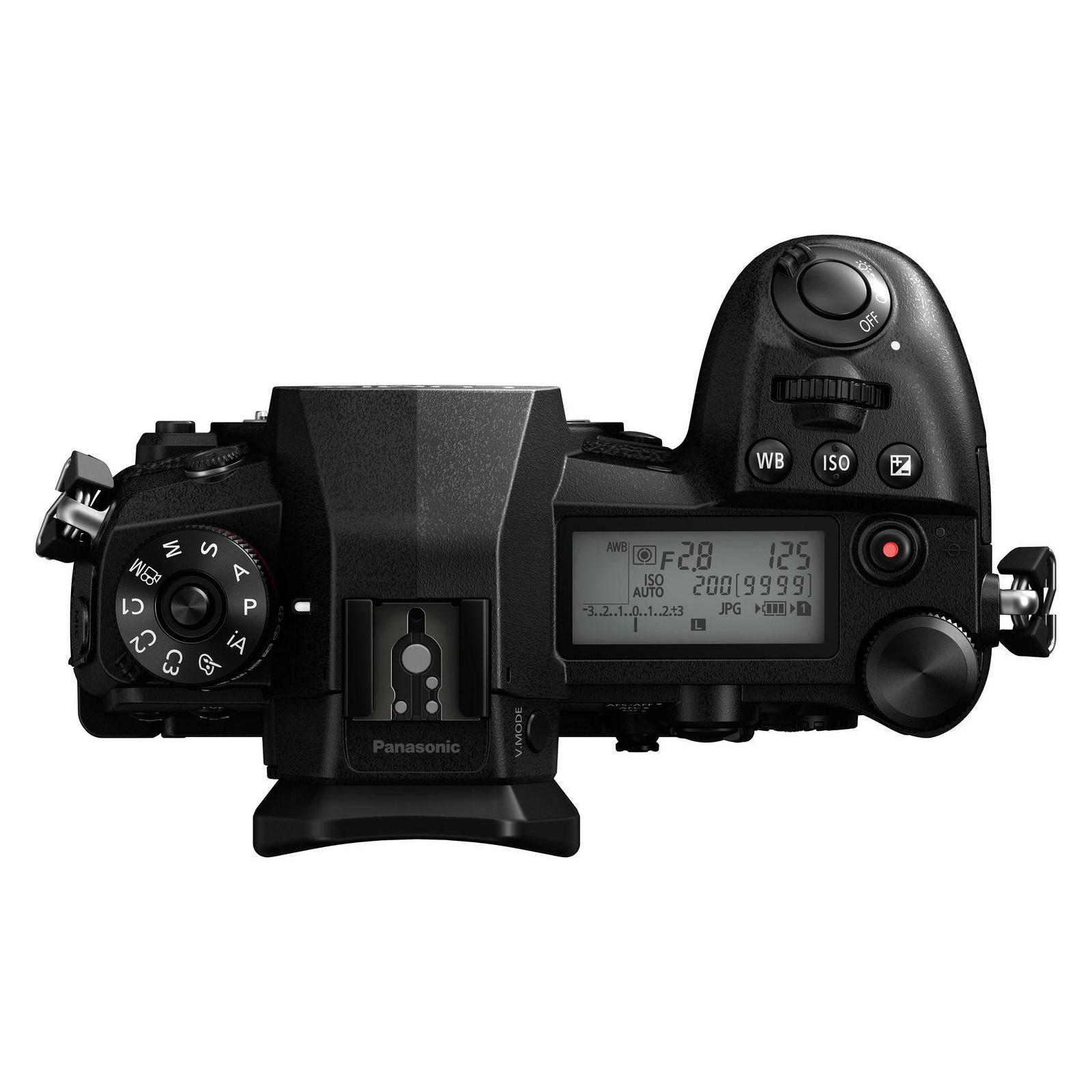 Цифровий фотоапарат PANASONIC DC-G9 Body (DC-G9EE-K) зображення 4