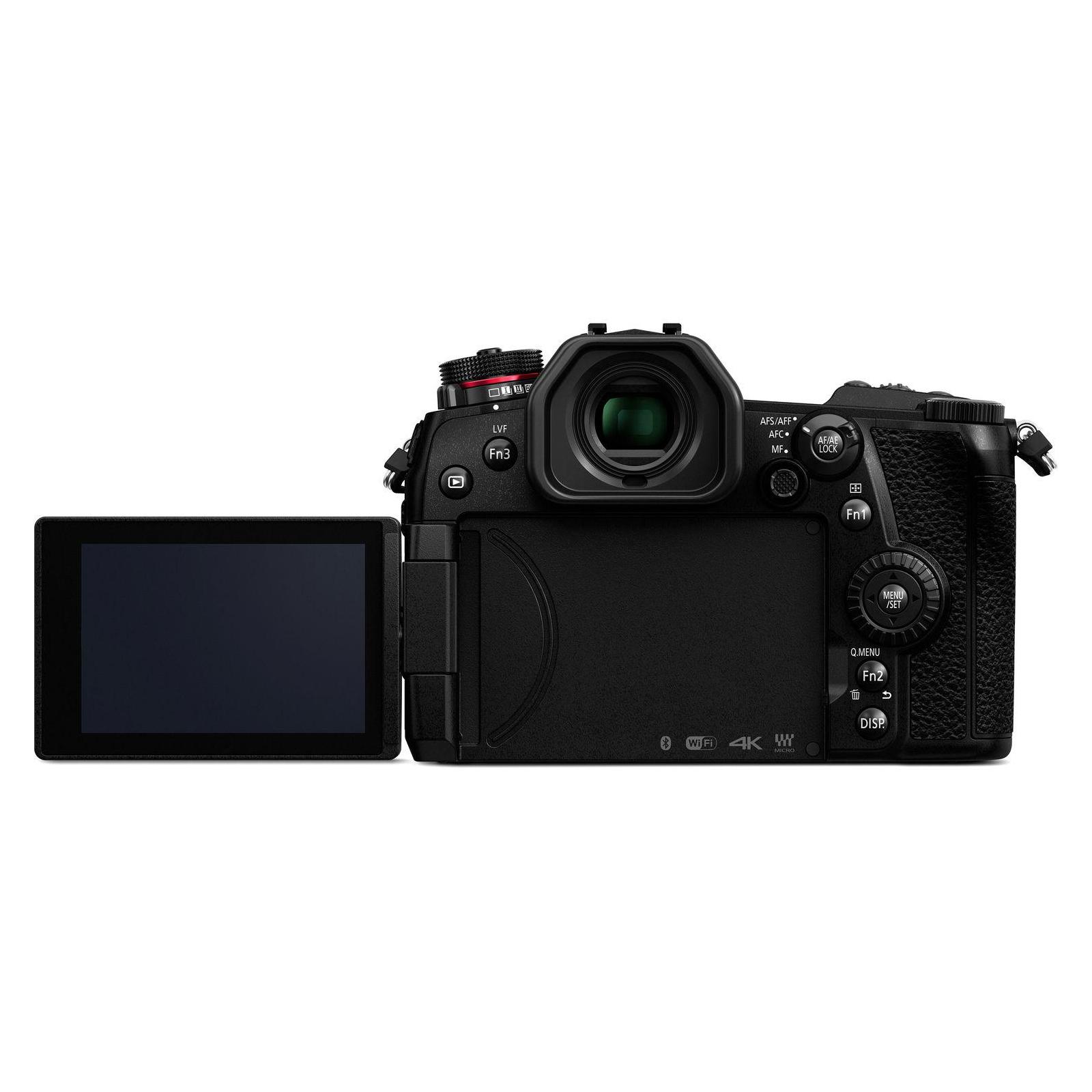 Цифровий фотоапарат PANASONIC DC-G9 Body (DC-G9EE-K) зображення 5