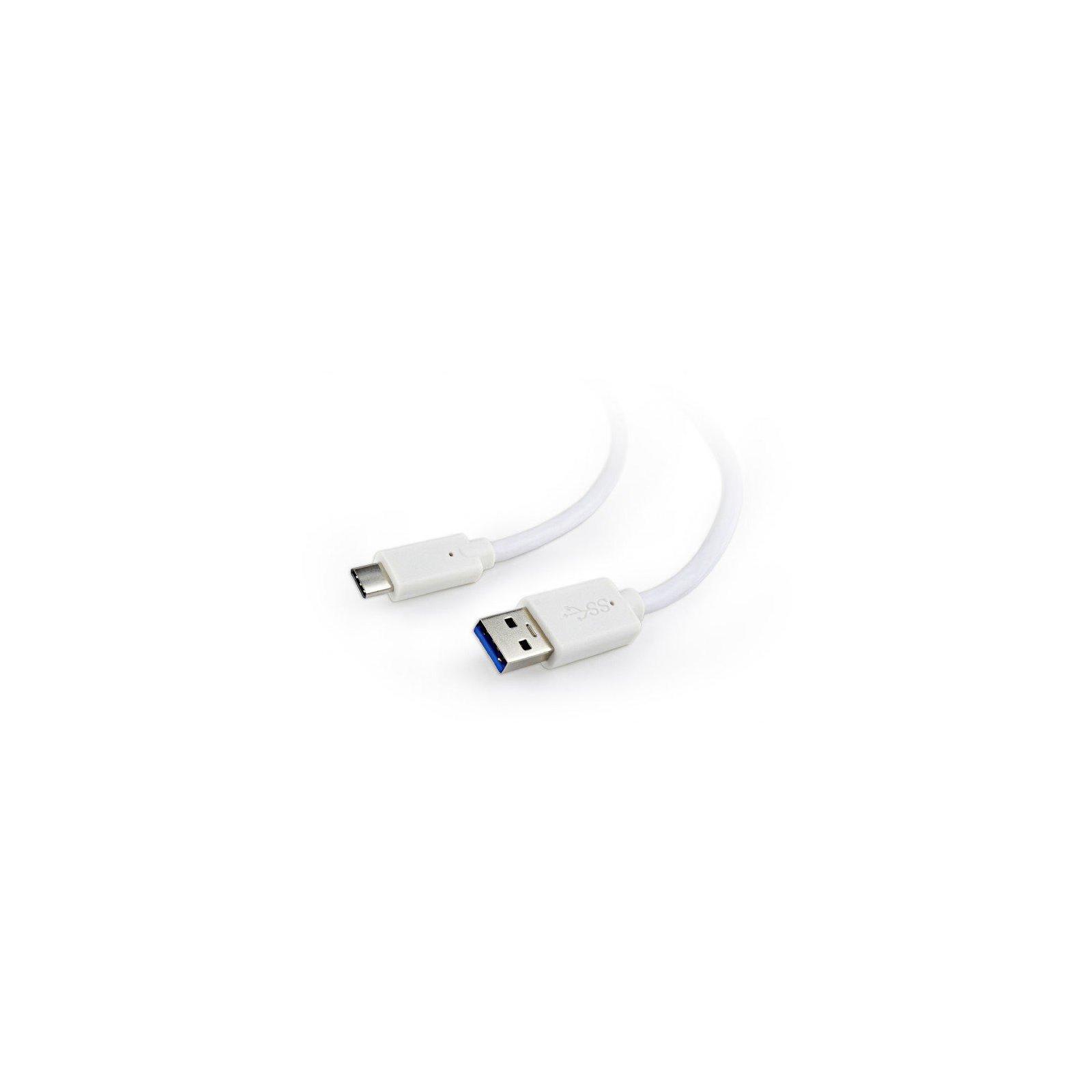Дата кабель USB 3.0 AM to Type-C 1.0m Cablexpert (CCP-USB3-AMCM-1M-W)