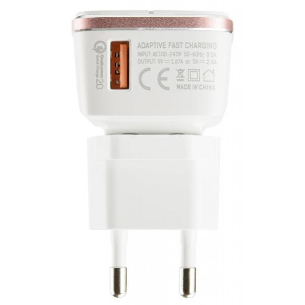 Зарядное устройство LDNIO DL-A1204Q 1*USB, 2.4A, White (55415) изображение 3