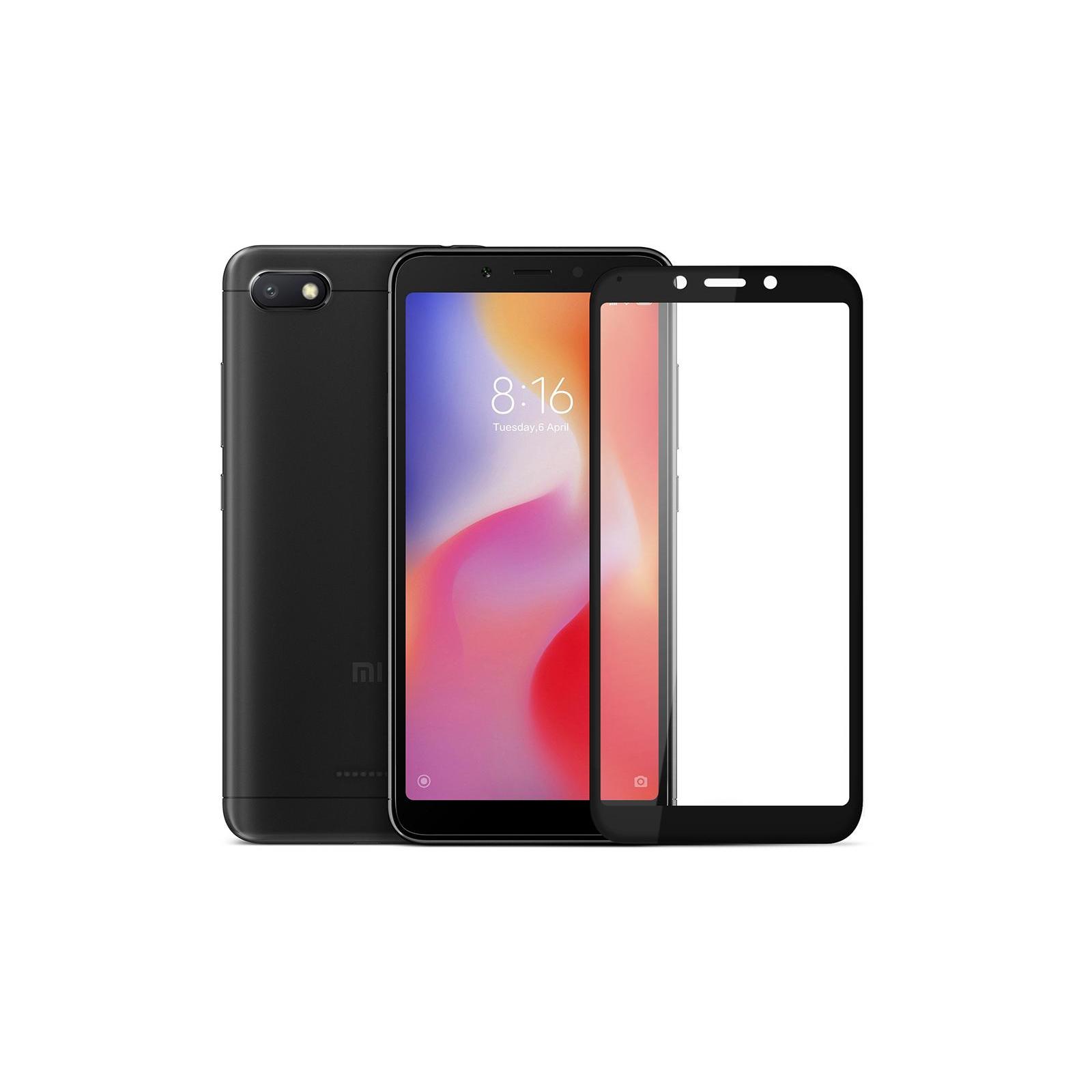 Стекло защитное Vinga для Xiaomi Redmi 6A (Black) (VTPGS-R6A) изображение 3