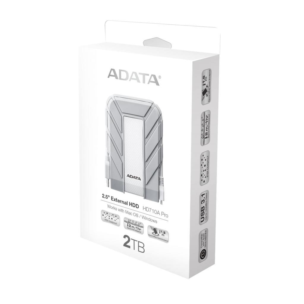 """Внешний жесткий диск 2.5"""" 2TB ADATA (AHD710AP-2TU31-CWH) изображение 6"""