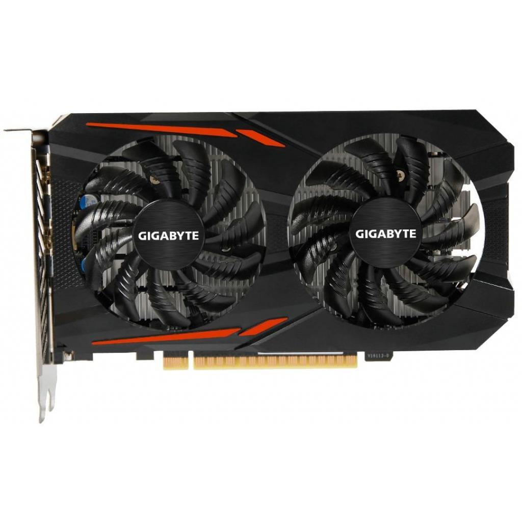Видеокарта GIGABYTE GeForce GTX1050 3072Mb WINDFORCE2X OC (GV-N1050OC-3GD) изображение 2