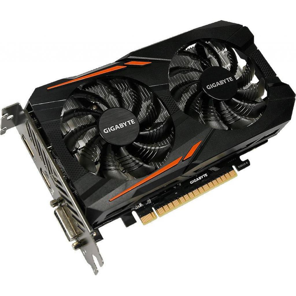 Видеокарта GIGABYTE GeForce GTX1050 3072Mb WINDFORCE2X OC (GV-N1050OC-3GD) изображение 3