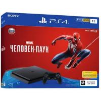 Игровая консоль SONY PlayStation 4 Slim 1Tb Black (Spider-Man) (9763215)