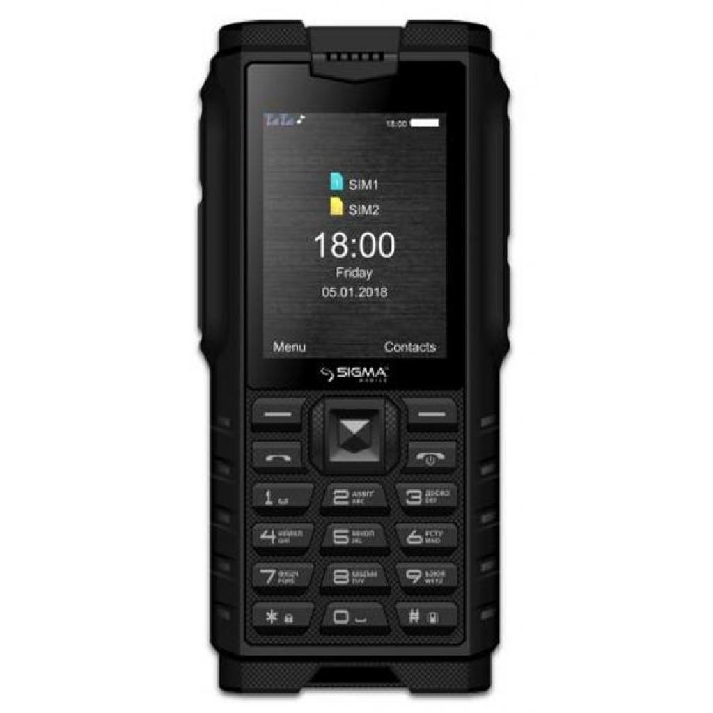 Мобильный телефон Sigma X-treme DZ68 Black (4827798466315)