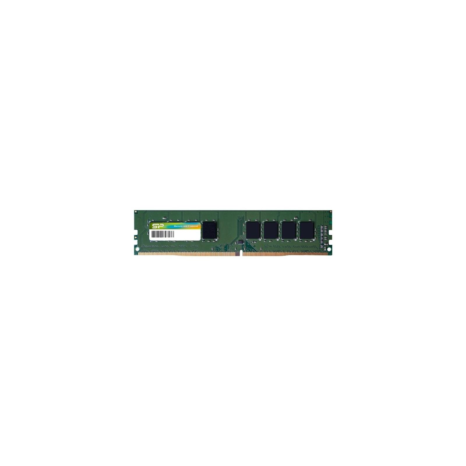 Модуль памяти для компьютера DDR4 4GB 2400 MHz Silicon Power (SP004GBLFU240C02)