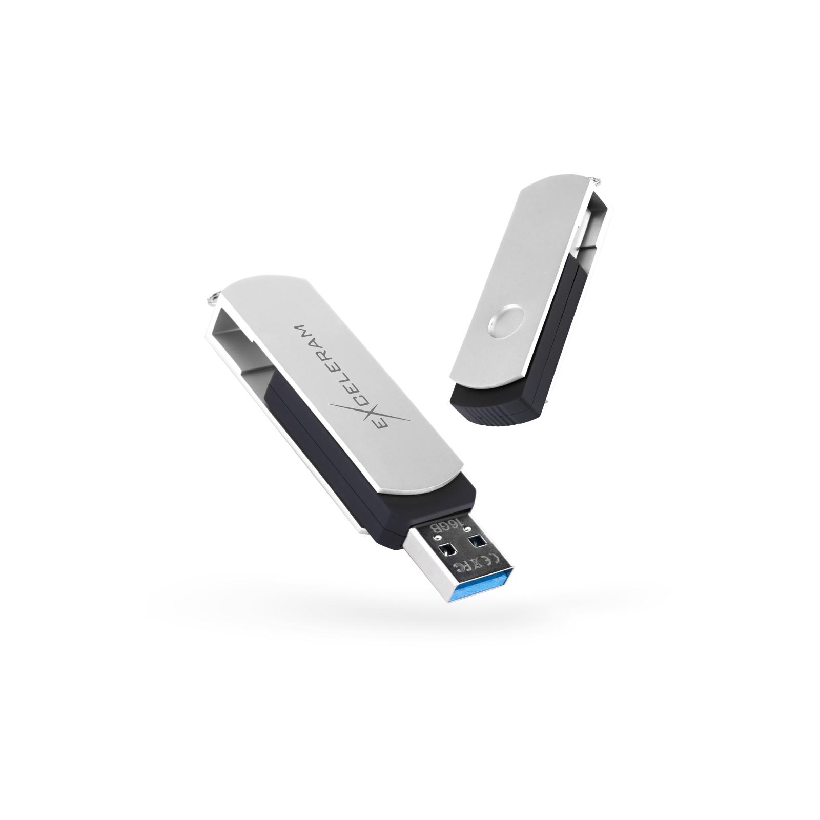 USB флеш накопитель eXceleram 64GB P2 Series Yellow2/Black USB 2.0 (EXP2U2Y2B64)