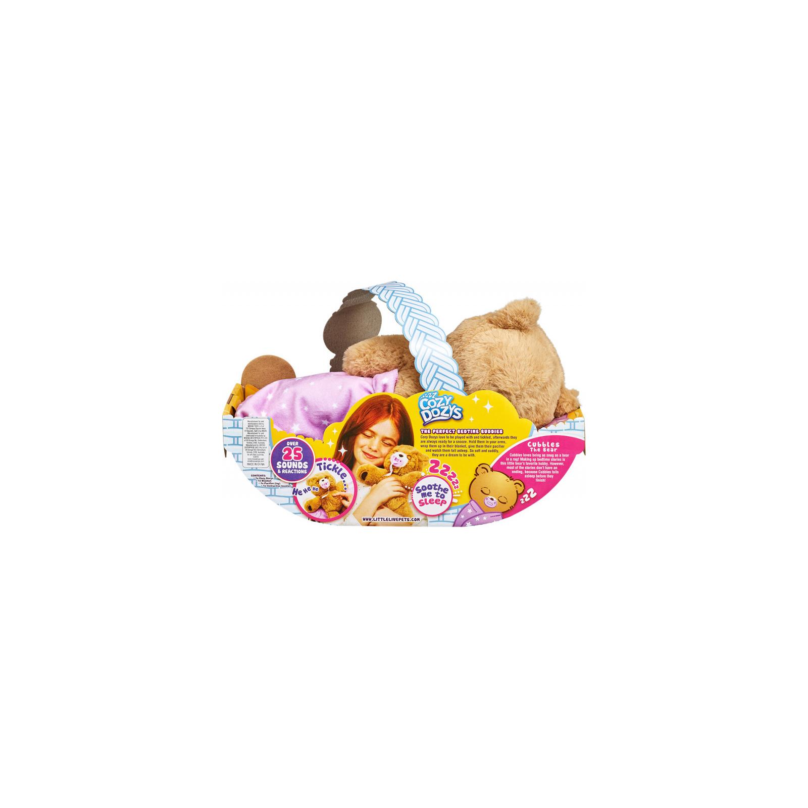 Интерактивная игрушка Moose Мишка-обнимашка (28847) изображение 10