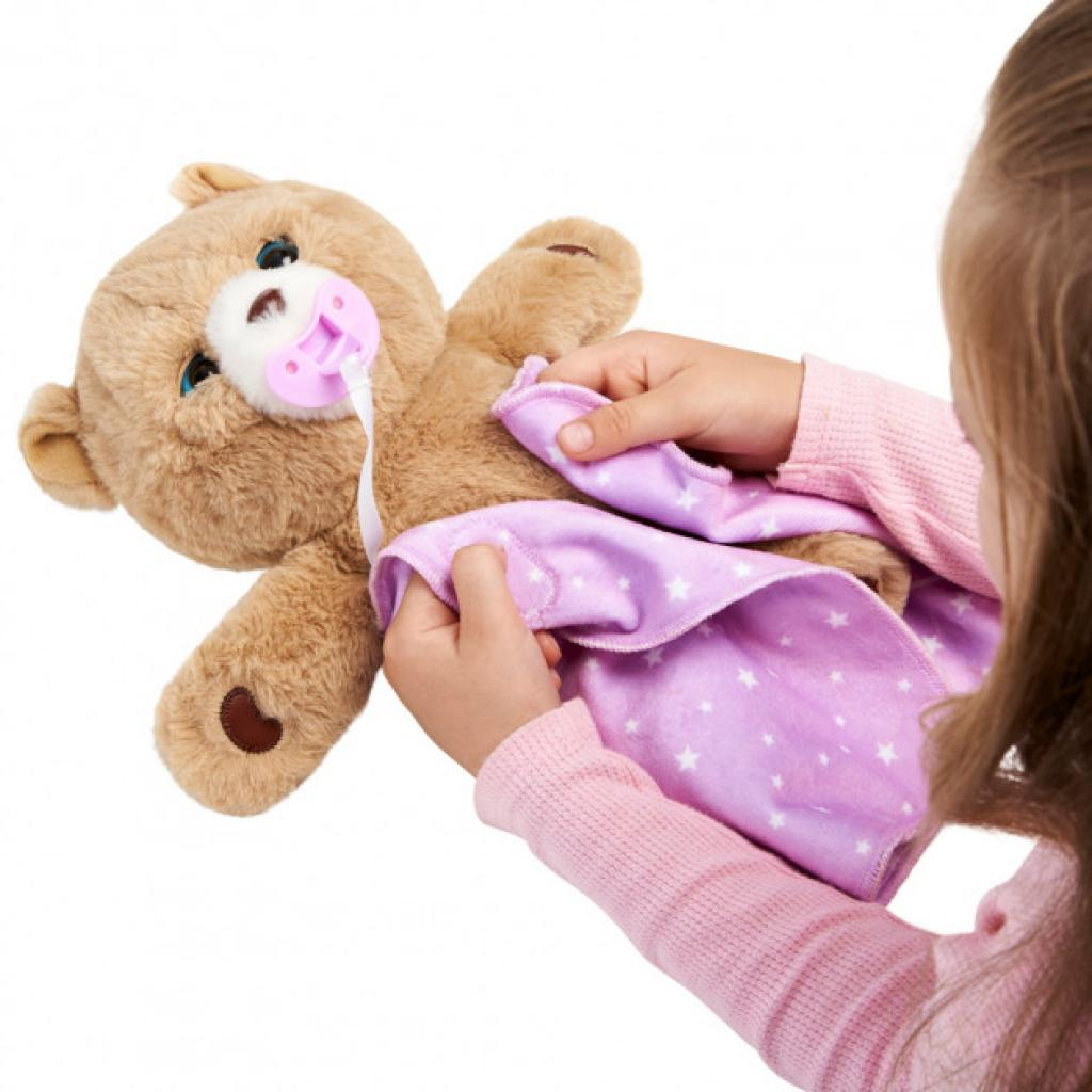 Интерактивная игрушка Moose Мишка-обнимашка (28847) изображение 3