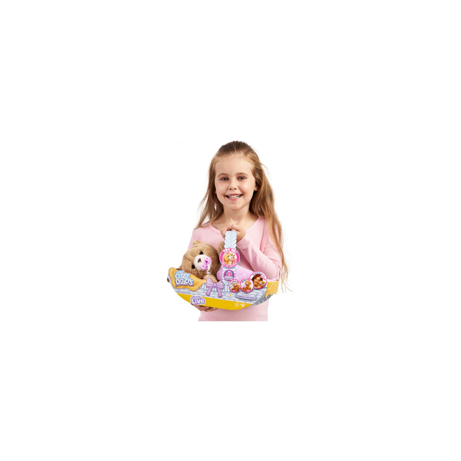Интерактивная игрушка Moose Мишка-обнимашка (28847) изображение 5