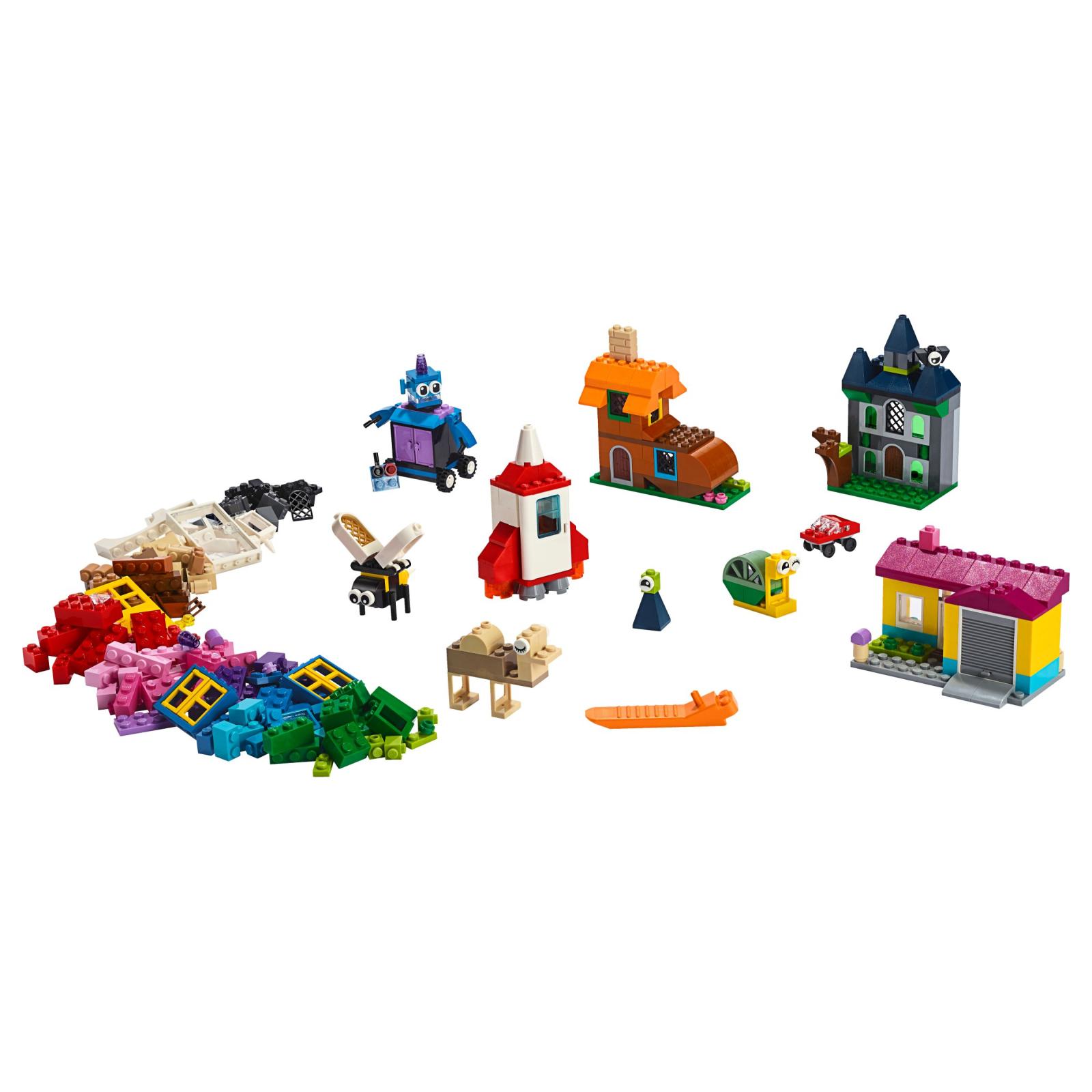 Конструктор LEGO Classic Набор для творчества с окнами 450 деталей (11004) изображение 2