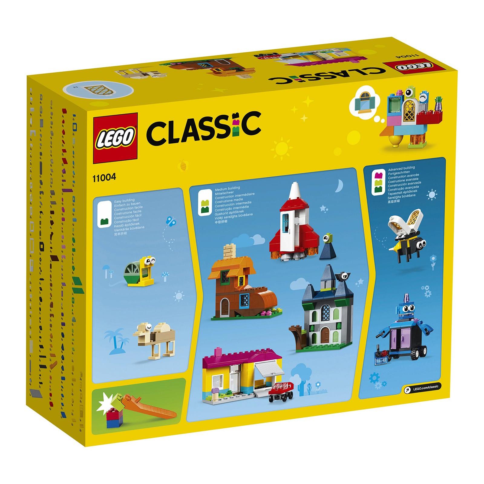 Конструктор LEGO Classic Набор для творчества с окнами 450 деталей (11004) изображение 7