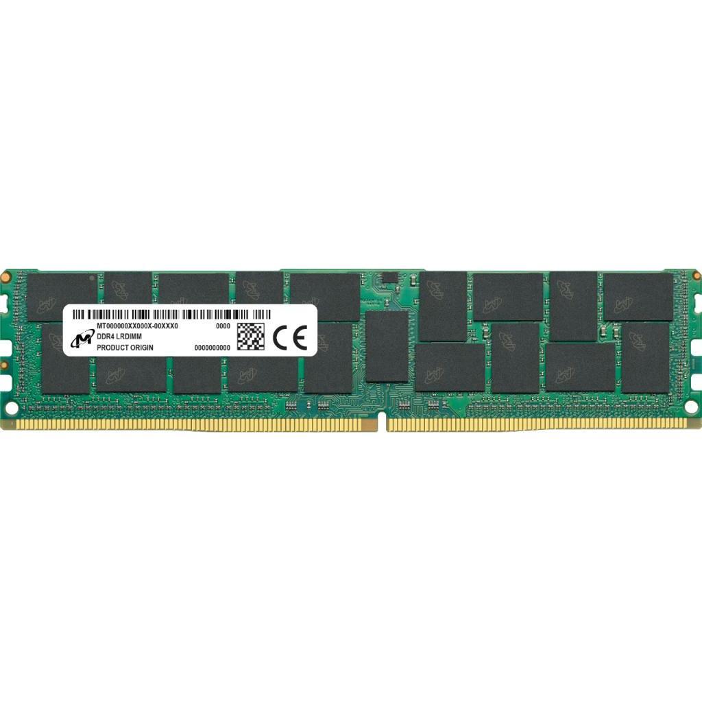 Модуль памяти для сервера DDR4 64GB ECC LRDIMM 2933MHz 4Rx4 1.2V CL21 Micron (MTA72ASS8G72LZ-2G9J2)
