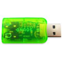 Звуковая плата Dynamode USB 6(5.1) green (USB-SOUNDCARD2.0 green)