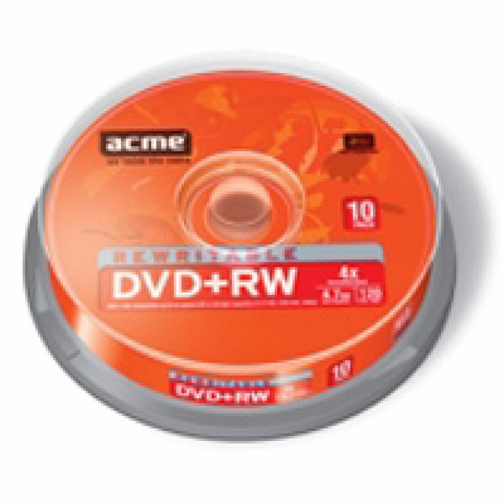 Диск DVD ACME 4.7Gb 4x Cake box 10шт (4770070852972)