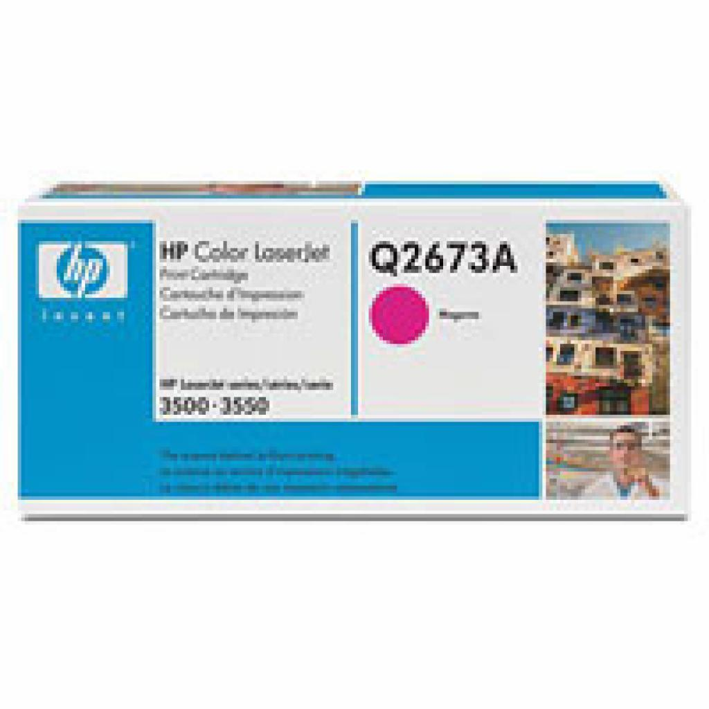 Картридж CLJ 3500/3550 magenta HP (Q2673A)