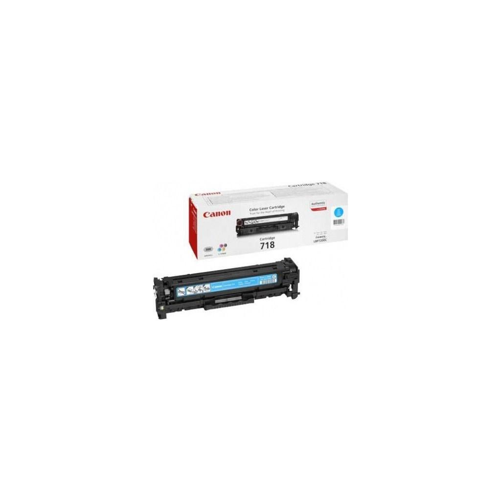 Картридж Canon 718 LBP-7200/ MF-8330/ 8350 cyan (2661B002)
