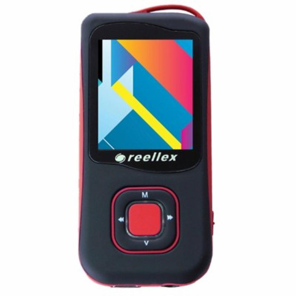mp3 плеер Reellex UP-47 4GB Black/Red (UP-47 Black/Red)