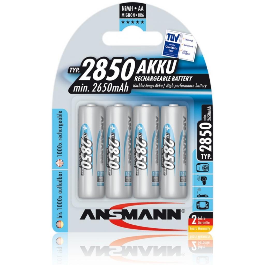 Аккумулятор Ansmann AA R6 2850 mAh *4 (5035212)